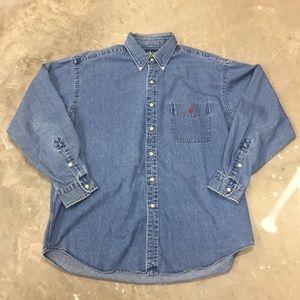 Vintage Polo Ralph Lauren jeans shirt